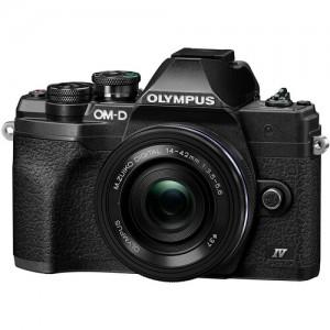 Olympus OM-D E-M10 Mark IV 14-42mm Lens Kit Black