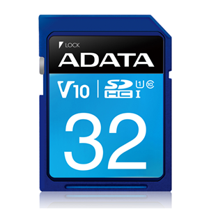 Adata 32GB SDHC UHS-I Card: Class 10