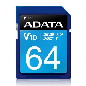 Adata 64GB SDXC UHS-I Card: Class 10