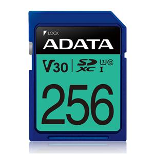 ADATA Premier Pro UHS-I U3 V30 SDXC Card 256GB