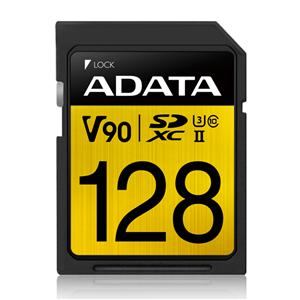ADATA Premier One UHS-II U3 V90 SDXC Card 128GB
