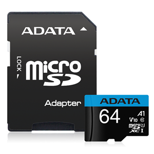 Adata 64gb Micro SDXC UHS-I Memory Card
