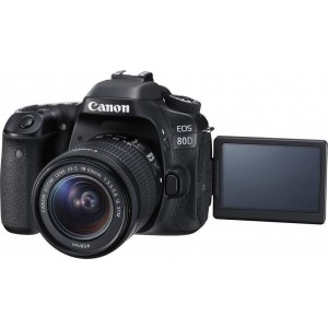 Canon EOS 80D with 18-55mm IS STM Lens