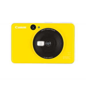 Canon iNSPiC C 2in1 Camera and Mini Printer Yellow