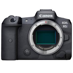 Canon EOS R5 Mirrorless Camera (Body w/ Adapter)