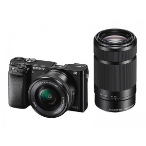 Sony Alpha a6000 with 16-50mm and 55-210mm Lenses