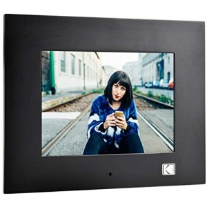 "Kodak 8"" Digital Photo Frame Black"
