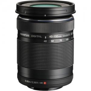 Olympus M.Zuiko Digital ED 40-150mm f/4.0-5.6 R Lens Black