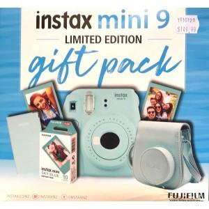 FujiFilm Instax Mini 9 Gift Pack Blue