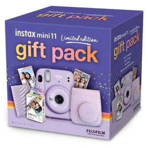 Fujifilm Instax Mini 11 - Lilac Purple Limited Edition Gift Pack