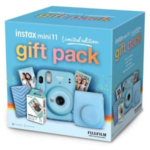 Fujifilm Instax Mini 11 - Sky Blue Limited Edition Gift Pack