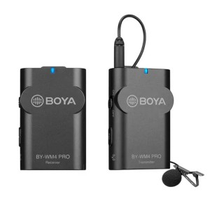 BOYA 2.4GHZ WIRELESS MICROPHONE KIT 1TX+1RX