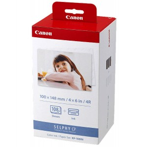 Canon Color Ink / Paper set KP-108IN
