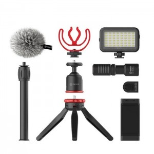 BOYA VG350 VLOGGING KIT 2 INCL. MINI TRIPOD BY-MM1 + MIC LED LIGHT