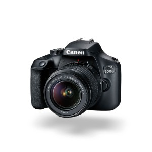 Canon EOS 3000D with EF-S 18-55mm Lens