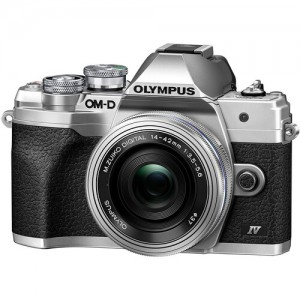 Olympus OM-D E-M10 Mark IV 14-42mm Lens Kit Silver