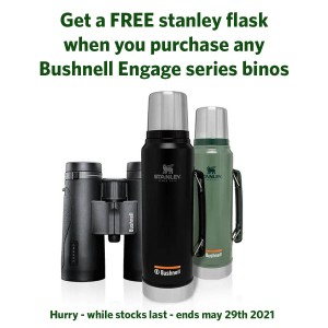 BUSHNELL ENGAGE 8X42 ROOF BINOS