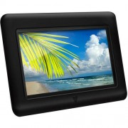Aluratek 7-Inch Digital Photo Frame Black
