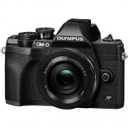 Olympus OM-D E-M10 Mark IV 14-42mm Lens Kit Black