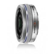 Olympus 14-42mm f3.5-5.6 EZ Pancake Micro Four Thirds Lens Silver