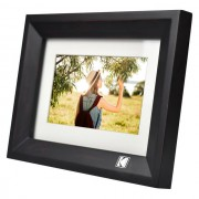 "Kodak 7"" Digital Photo Frame Black"