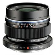 Olympus 12mm f2.0 Wide Micro Four Thirds Lens