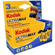 Kodak UltraMax 400 Color Negative Film 35mm Roll Film 3 pack 24 Exposures