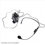 Headset Microphone for GoPro Hero3+/Hero3/4