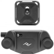PEAK CAPTURE CAMERA CLIP (V3) BLACK W/PLATE