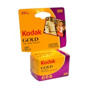Kodak Gold 200 Color Negative Film 35mm Roll Film 24 Exposures