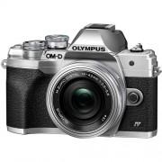 Olympus OM-D E-M10 Mark IV 14-42mm Lens Kit Silver