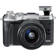 Canon EOS M6 + 15-45 IS STM Silver