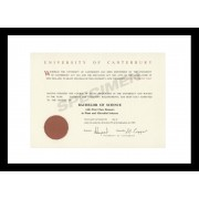 University Certificate Frame